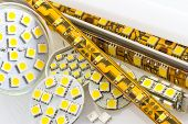 foto of diodes  - SMD LED - JPG