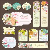 stock photo of wishing-well  - gift tags - JPG