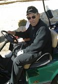 PALM SPRINGS - FEB 7: Yogi Berra at the 15th Frank Sinatra Celebrity Invitational Golf Tournament at