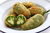 stock photo of jalapeno  - jalapeno poppers - JPG