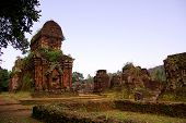 pic of champa  - My son a complex of the Champa architecture in Vietnam