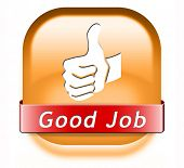 picture of job well done  - good job great work well done button - JPG