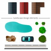 image of high-quality  - Landscape design elements high quality  - JPG