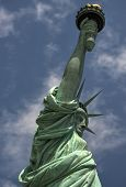 pic of statue liberty  - The Statue of Liberty on Liberty Island New York - JPG