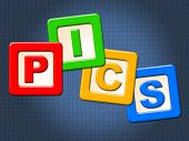 picture of youngster  - Pics Kids Blocks Representing Childhood Youngsters And Photo - JPG
