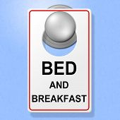 picture of bed breakfast  - Bed And Breakfast Representing Place To Stay And Single Room - JPG