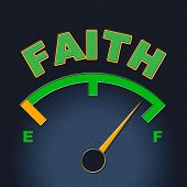 picture of faithfulness  - Faith Gauge Indicating Dial Faithful And Christian - JPG