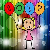 foto of youngster  - Twenty Seventeen Balloons Meaning Kids Planner And Youngsters - JPG