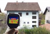 picture of thermal  - Checkup Thermal Insulation of the home - JPG