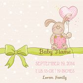 image of child-birth  - Baby Shower or Arrival Card  - JPG