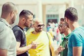 picture of arabic  - Young Arabic people in Middle East - JPG