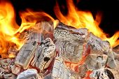 image of ember  - Charcoal Embers Close - JPG