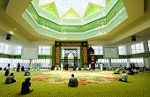 image of malaysia  - Cyberjaya Mosque is the first Green Platinum Certificate Mosque built in Malaysia - JPG