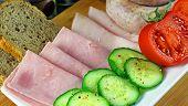 foto of roughage  - Tasty breakfast  - JPG