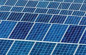 picture of environmentally friendly  - panels a solar power plant - JPG
