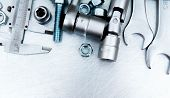 picture of micrometer  - Metal tools - JPG