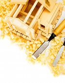 stock photo of chisel  - Woodworking - JPG