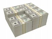 picture of one hundred dollar bill  - One Hundred Dollar Bill - JPG