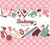 picture of cake-mixer  - Bakery and sweet illustration - JPG