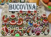 Bucovina Traditional Easter Eggs
