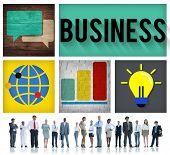 image of enterprise  - Business Company Corporate Enterprise Organisation Concept - JPG