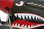 stock photo of spitfire  - Spitfire detail - JPG