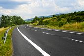 stock photo of long distance  - Road - JPG