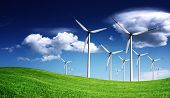 image of wind-turbine  - Wind turbines - JPG