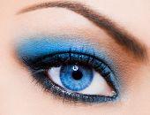 Постер, плакат: крупный план красивых женского глаза
