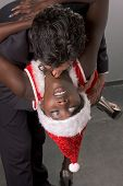 stock photo of brothel  - Seductive ethnic black African - JPG