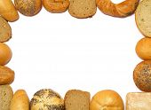 pic of bread rolls  - bread frame - JPG