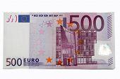 Постер, плакат: Банкнота 500 евро