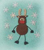 Felt Christmas Card, Diy Idea poster
