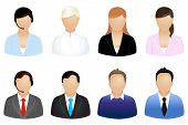 image of retort  - Set Of Business People Icons - JPG