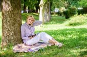 Female Self Improvement. Self Improvement Book. Business Lady Find Minute To Read Book Improve Her K poster