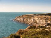 Isle Of Portland Coast Dorset Weymouth Landscape Space Ocean Summer Nature Jurassic Coast poster