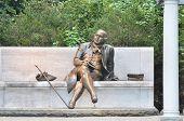 foto of revolutionary war  - George Mason Memorial in National Mall  - JPG