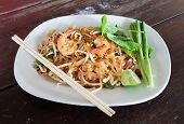 picture of rice noodles  - Thailand - JPG