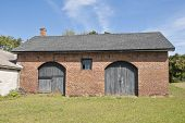 image of blacksmith shop  - A South Carolina Blacksmith shop built in the early 1800 - JPG