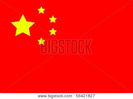 China flag themes idea poster