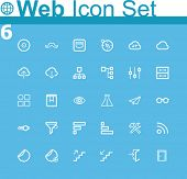 picture of eye-sockets  - Common web icons - JPG