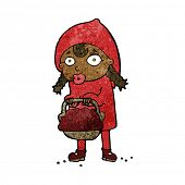 pic of little red riding hood  - little red riding hood cartoon - JPG