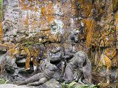 stock photo of magi  - Kuks Forest Sculptures  - JPG