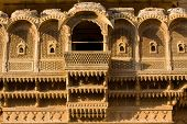 image of jainism  - Palace of the Maharajah in Jaisalmer the magnificent  - JPG