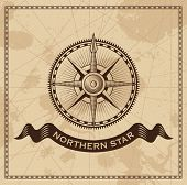 picture of longitude  - Wind Rose Nautical Compass  - JPG