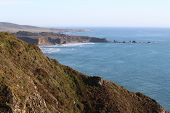 foto of pch  - landscape along Highway 1 in southern California - JPG