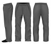 picture of black pants  - Men - JPG