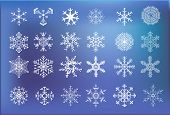 stock photo of ice crystal  - abstract backdrop background beautiful blue card celebration christmas circle cold crystal december decoration design flake frame frost frozen glitter graphic greeting happiness holiday ice illustration light merry nature ornament pattern scrapbook season - JPG