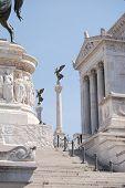 pic of altar  - A view of The Altare della Patria - JPG