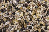 foto of bereavement  - Natural pebble stones background - JPG